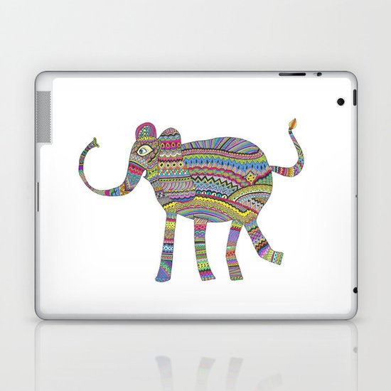 rainbow child Laptop & iPad Skin