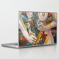 boob Laptop & iPad Skins featuring alcove by Beth Jorgensen