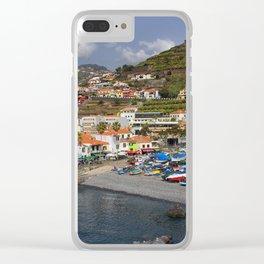 Camara de Lobos Madeira Clear iPhone Case