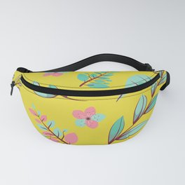 Flower Design Series 4 Fanny Pack