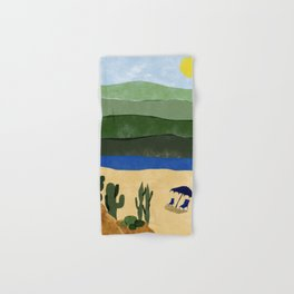 Summer desert Hand & Bath Towel