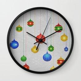Christmas 02 Wall Clock
