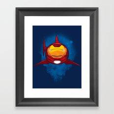 Tony Shark Framed Art Print