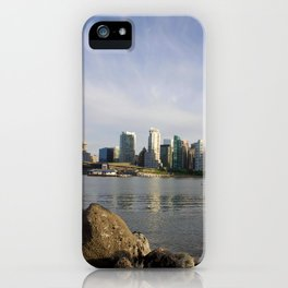 Vancouver Cityscape iPhone Case