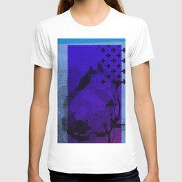 Cool Cross Blue 002 T-shirt