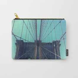 BROOKLYN BRIDGE - VINTAGE - FADED Carry-All Pouch