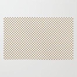Iced Coffee Polka Dots Rug