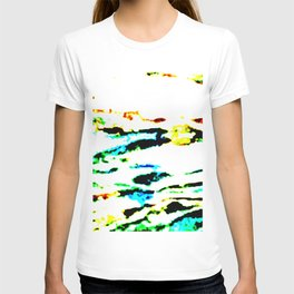 River Flowing West T-shirt