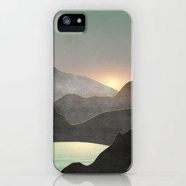 Minimal Landscape 03 iPhone Case