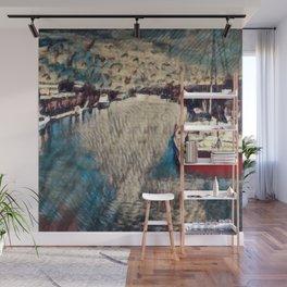 Fisherman's Wharf Wall Mural