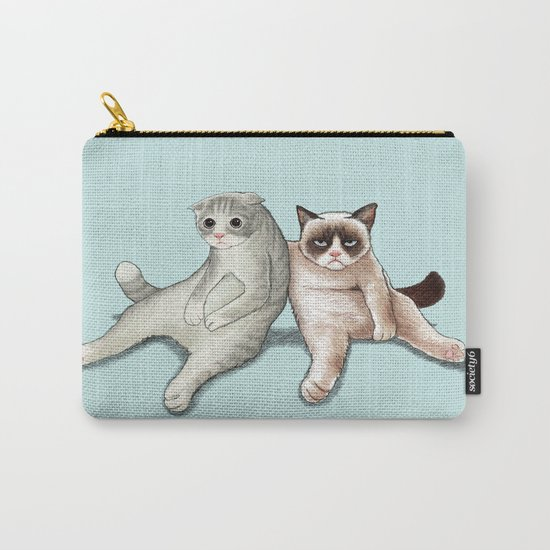 Grumpy Friend Carry-All Pouch