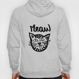 CAT MEAW FACE Hoody