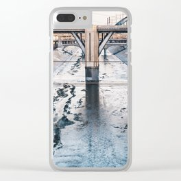 Put up your hands! Clear iPhone Case