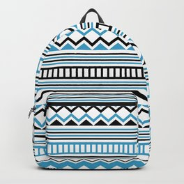 Tribal Scarf Backpack