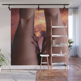 0025s-KCS The Gate of Heaven Creation Lies Between Her Thighs Wall Mural