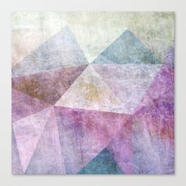 POLYGONS ABSTRACT 2 Canvas Print