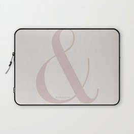 Linda & Lena ampersand Laptop Sleeve