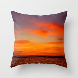 Phuket Sunset Throw Pillow