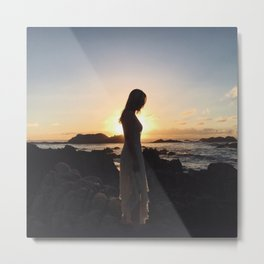 Chasing the Sun for Eight Days Straight Metal Print