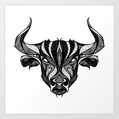 Signs of the Zodiac - Taurus Art Print
