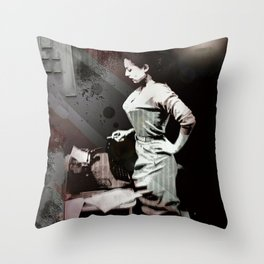 Vintage Erotica Dramatist Throw Pillow