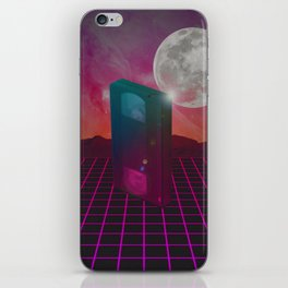 Back to the 80s iPhone Skin