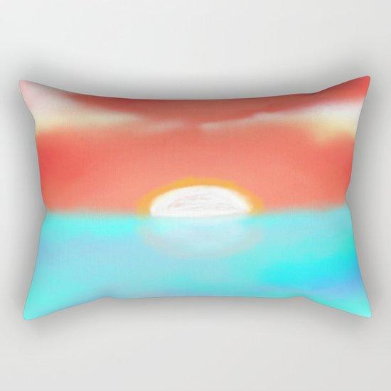 Blazing Sun Rectangular Pillow