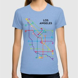 Los Angeles Freeway System T-shirt