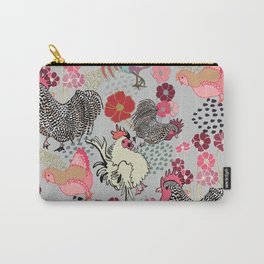 Rooster Toss Carry-All Pouch