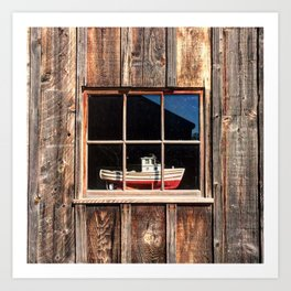 How Much is that Doggie in the Window? Art Print