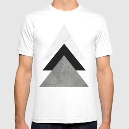 Arrows Monochrome Collage T-shirt