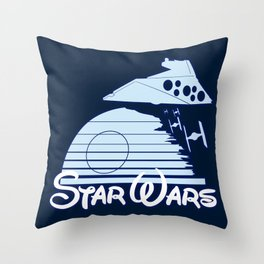 Welcome to the new family friendly Star Wars Empire! Throw Pillow