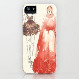 Alexander McQueen Fashion Illustrations 2013 iPhone Case