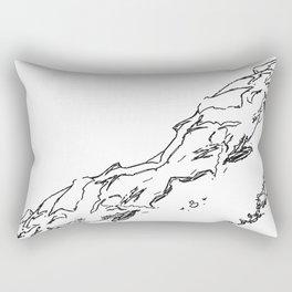 Swooping In Rectangular Pillow