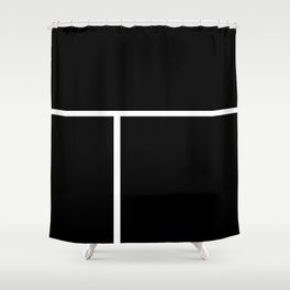 Moonokrom no 12 Shower Curtain