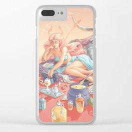 Mead Moon Clear iPhone Case