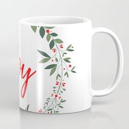 Joy and Christmas Coffee Mug