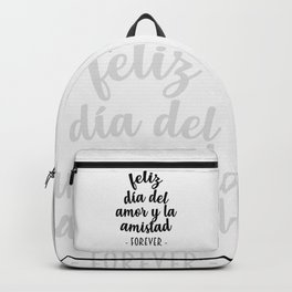 Feliz Día del Amor Backpack