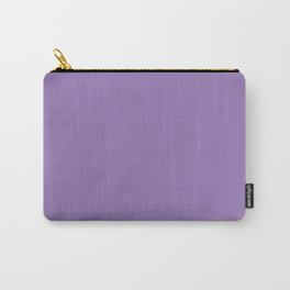 Purple Mountain Majesty - solid color Carry-All Pouch