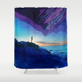 Since the moment I left Purple Shower Curtain