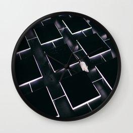 Mice in a maze Wall Clock