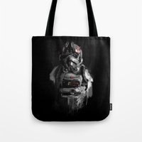 pilot Tote Bags featuring Pilot 02 by Rafal Rola