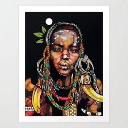 African '93 Art Print
