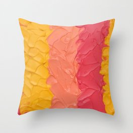 Candy Belt Throw Pillow
