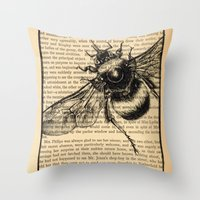 pride and prejudice Throw Pillows featuring Pride & Prejudice, Page 51 by Rebecca Loomis