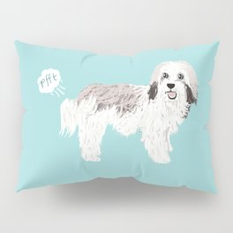 Havanese farting dog cute funny dog gifts pure breed dogs Pillow Sham