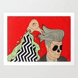 The Man From Another Place Art Print