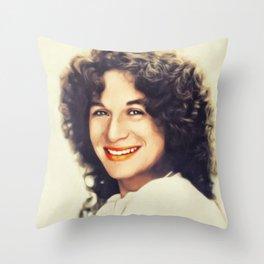 Carole King, Music Legend Throw Pillow
