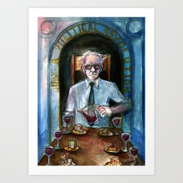Bernie Sanders as Temperance Art Print