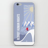 games iPhone & iPod Skins featuring Winter games by Inksider